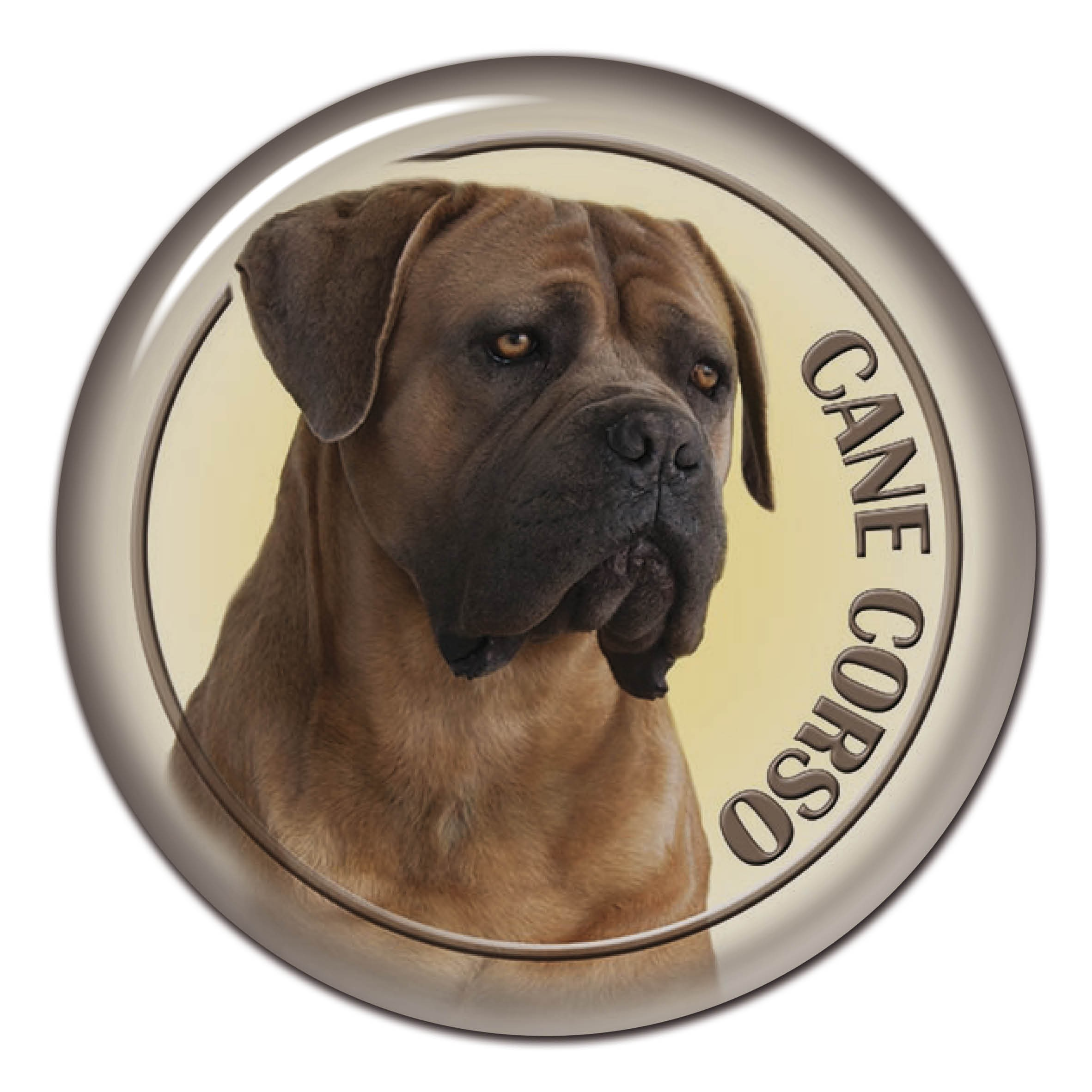 3d Sticker Cane Corso 103 C From Alldogstickerscom Dog Breed