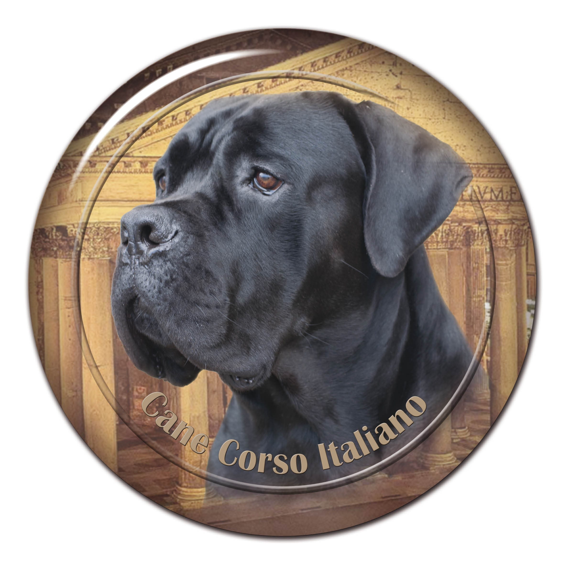 3d Sticker Cane Corso 104 C From Alldogstickerscom Dog Breed