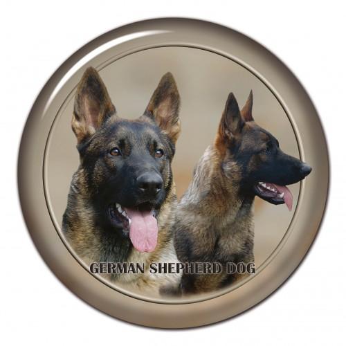 3D sticker German Shepherd Dog 101 C