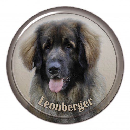 3D sticker Leonberger 101 C