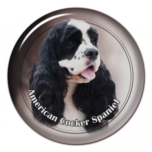 3D sticker America Cocker Spaniel 102 C