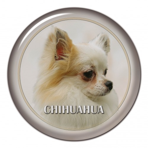 3D sticker Chihuahua 101 C
