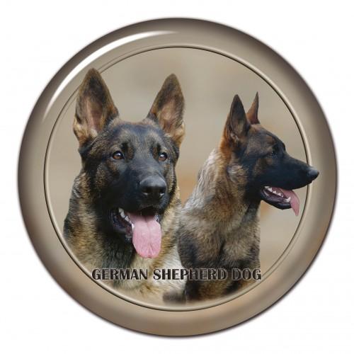 3D sticker German Shepherd Dog 101 C