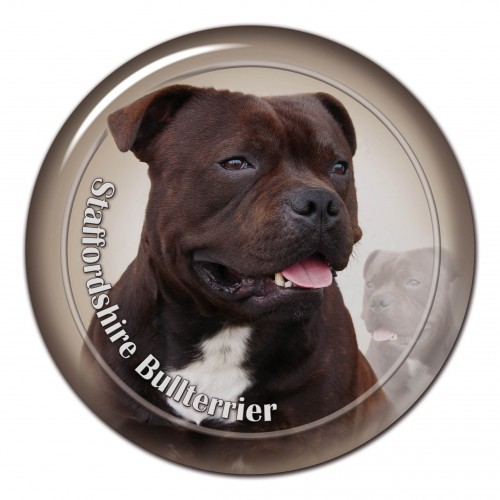 3D sticker Staffordschire Bullterrier 101 C