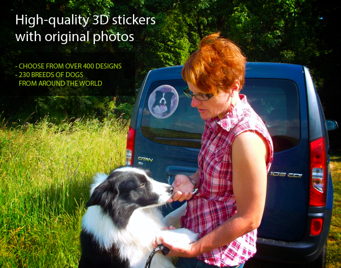 High Quality dog breed stickers not only for your car